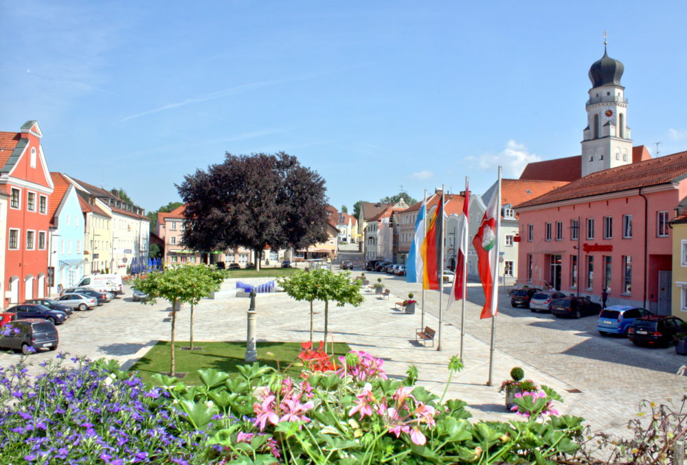 Neuer Stadtplatz BG